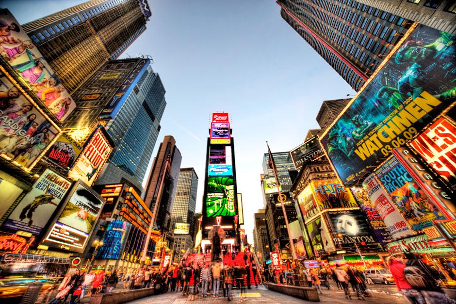 Нью-Йорк, США самые безопасные города мира