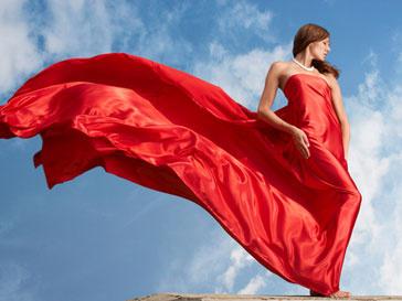 Женщины боятся красного цвета