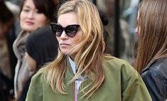 Кейт Мосс устроила шопинг в Париже