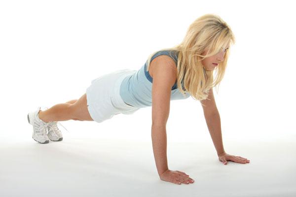 Упражнение 2: отжимания