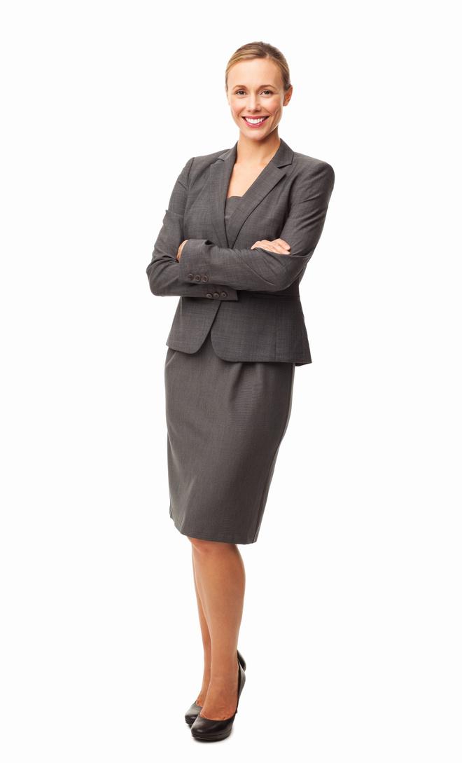 Рабочая и повседневная модная юбка при широких бедрах