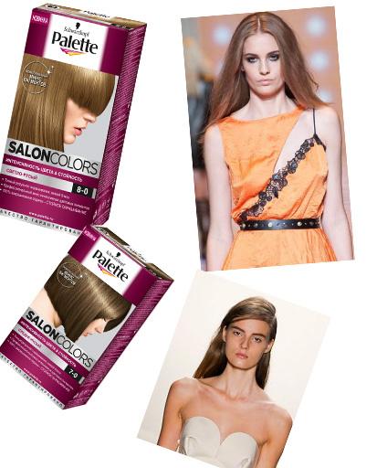 Palette Salon Colors для создания натурального оттенка волос