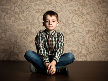 Харви Коул страдает редким заболеванием -синдромом Мебиуса