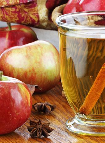Яблочно-мятный чай