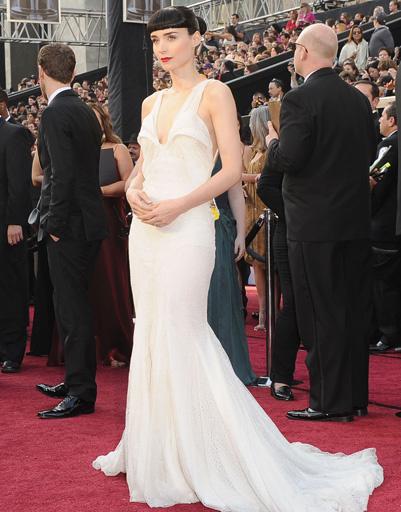 "Руни Мара (Rooney Mara) на ""Оскаре-2012"""