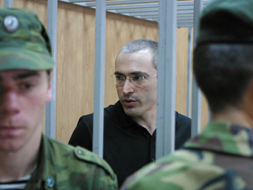 Михаил Ходорковский ожидает решения суда