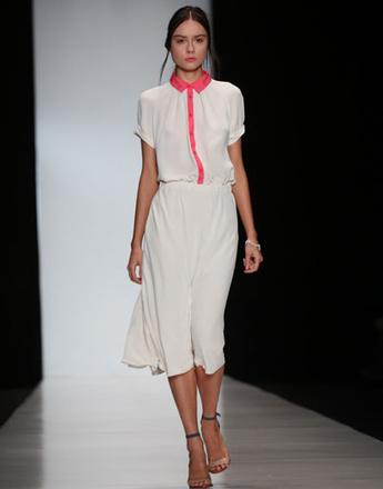 Mercedes-Benz Fashion Week: коллекция Pustovit весна-лето 2013
