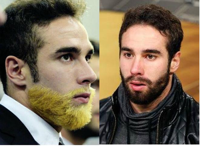 Защитник Даниэль Карвахаль покрасил бороду