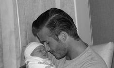 Дэвид Бекхэм с дочерью. Первые фото