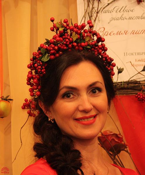 Шляпка «Русская краса», Оксана Туз