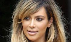 Ким Кардашьян перекрасилась в блондинку