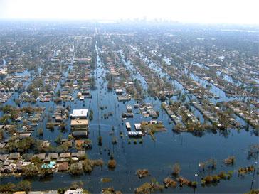 Новый Орлеан, ураган Катрина