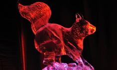 В Санкт-Петербурге проходит выставка ледяных фигур