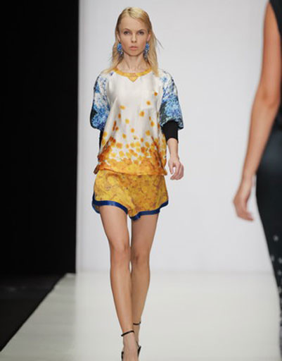 Mercedes-Benz Fashion Week: Viva Vox, весна-2012