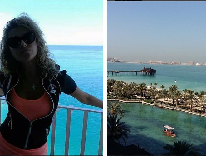 Екатерина Архарова отдыхает в Дубае