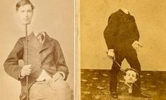 Шедевры сурового фотошопа в семейных альбомах наших прадедов