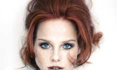 Модный приговор: рыжий цвет волос под голубые глаза