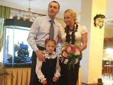 Дочь Анастасии Волочковой стала первоклассницей