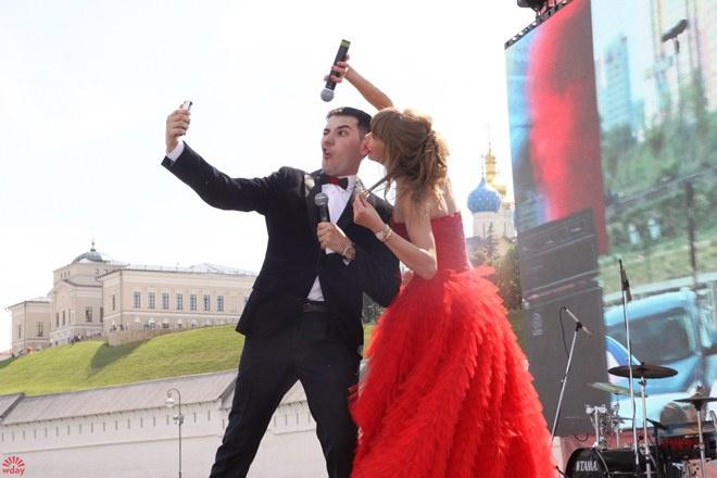 Алла Михеева Последний звонок 2016 на Набережной в Казани