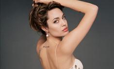 Анджелина Джоли сделала новую татуировку в честь Брэда Питта