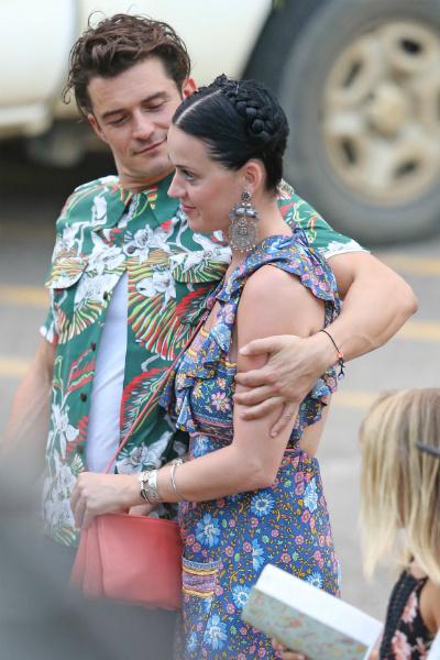 Орландо Блум и Кэти Перри отдыхают на Гавайях