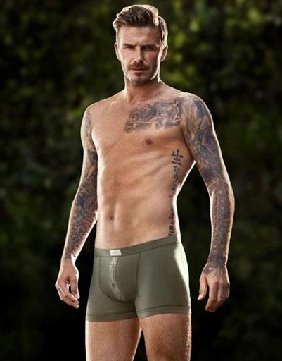 Рекламная кампания нижнего белья David Beckham for H&M весна-лето 2013