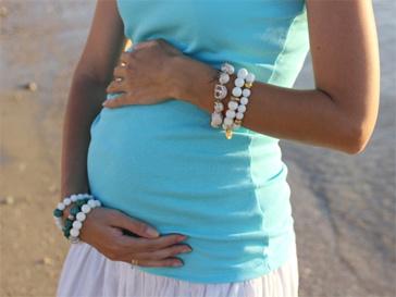 Анастасия Цветаева ждет рождения дочери в Израиле.