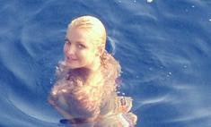 Анастасия Волочкова превратилась в Золотую рыбку