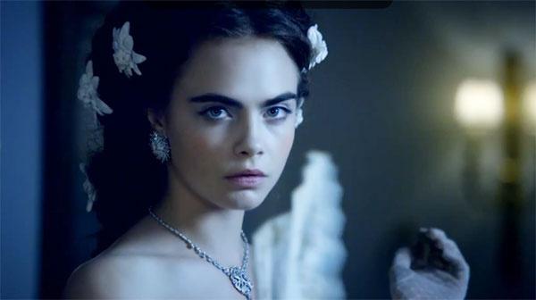 Кара Делевинь снялась в модной короткометражке