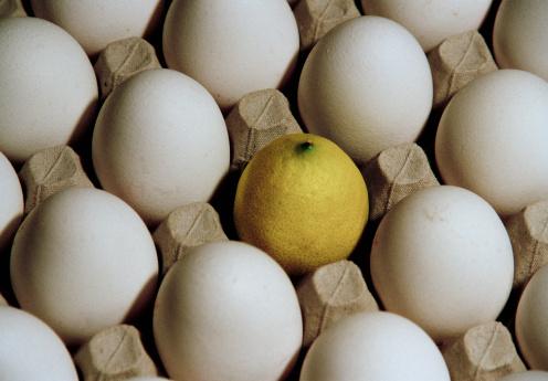 свежее яйцо лимонный сок