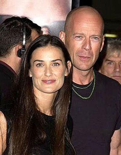 Деми Мур (Demi Moore) и Брюс Уиллис (Bruce Willis)