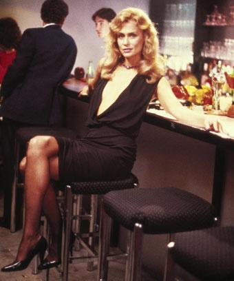 """Кадр из фильма """"Однажды укушенный"""", 1985 год"""