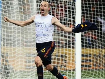 Андрес Иньеста (Andres Iniesta) претендует на звание лучшего футболиста года