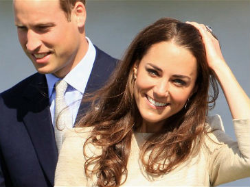 Кейт Миддлтон (Kate Middleton) и принц Уильям (Prince William)