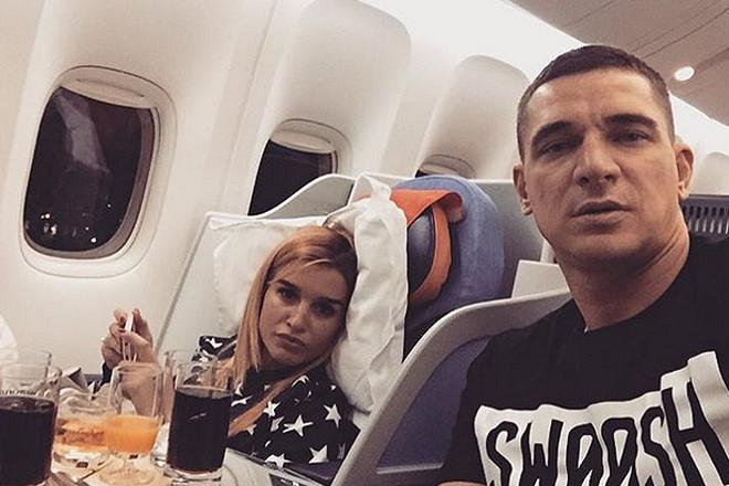 Курбан Омаров с женой Ксенией Бородиной фото