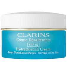 Интенсивно увлажняющий крем SPF 15 Creme Desalterante SPF-15, Clarins. Моментально впитывается в кожу, мгновенно создавая ощущение свежести.