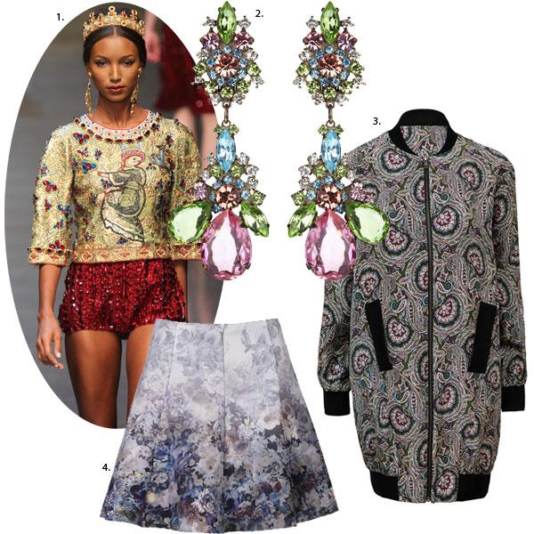 Мода осень-зима 2013