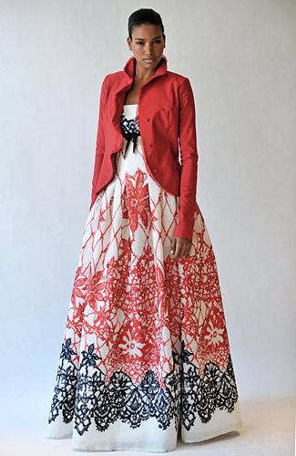 Carolina Herrera, круизная коллекция, лето 2009