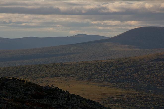 Перевал Дятлова, осень на Урале