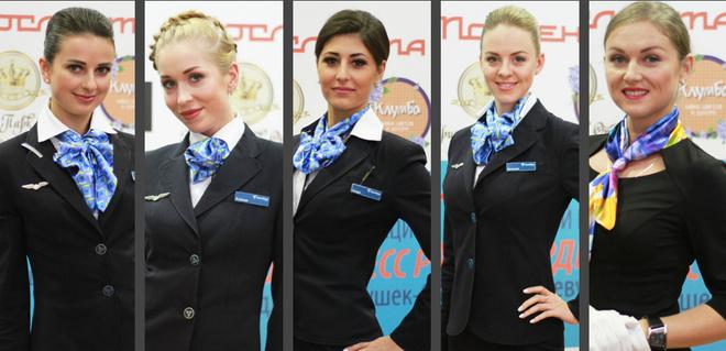 Красноярские финалистки конкурса «Топ самых красивых стюардесс России 2016»