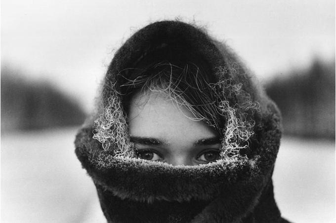 Юрий Луньков «Зима», 1965.