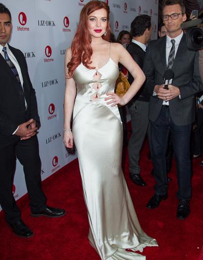 """Линдсей Лохан (Lindsay Lohan) на премьере фильма """"Лиз и Дик"""" в Беверли-Хиллз"""