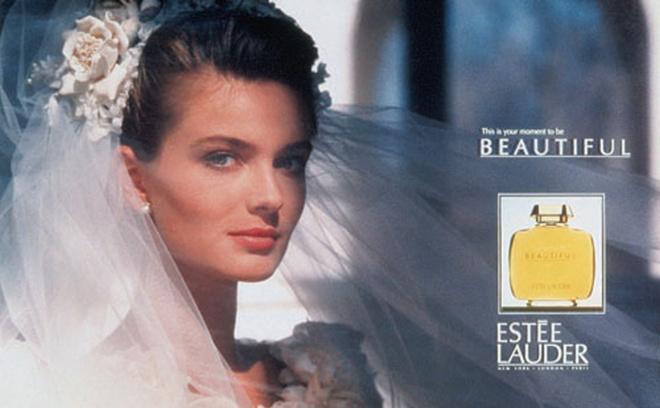 Паулина Порижкова в рекламе парфюма Beautiful
