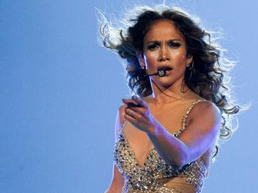 Дженнифер Лопес (Jennifer Lopez) на сцене
