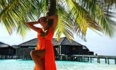 Горячая штучка: Дубцова хвастается фигурой на Мальдивах