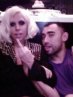 Леди ГаГа (Lady GaGa) вместе с Николя Формичетти