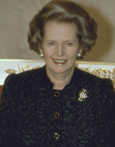 Маргарет Тэтчер (Margaret Thatcher).