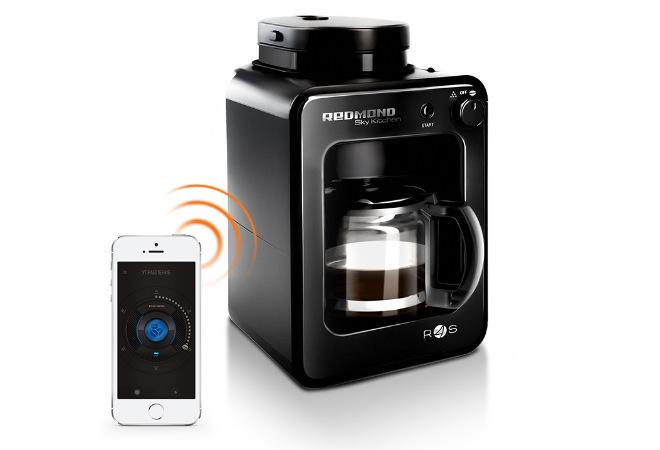 кофеварка со встроенной кофемолкой REDMOND SkyCoffee М1505S