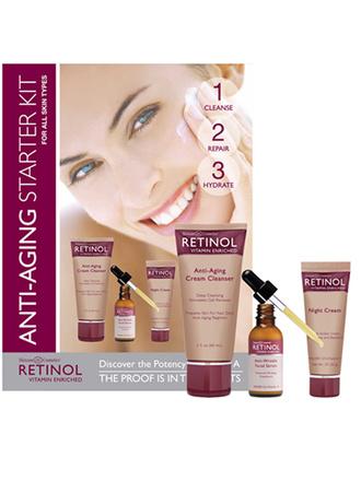 Набор Anti-Aging Starter Kit, Retinol, цена по запросу
