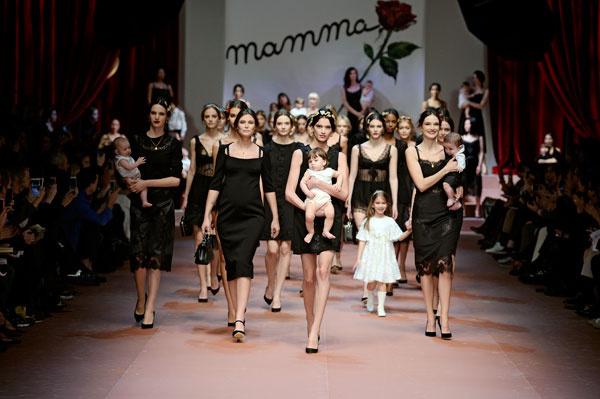 Dolce & Gabbana осень-зима 2015